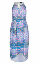 CITY CHIC XS 14 NWT RRP US $119 DRESS WRAP MIDI LAGOON