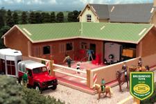 Schleich Cavallo Stall /& LUSITANO mare in plastica Set giocattolo fattoria animale da compagnia Stabile Nuovo