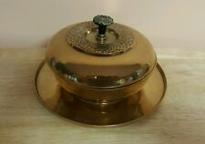 Vintage Antique Brass Candy Dish Bowl form Korea