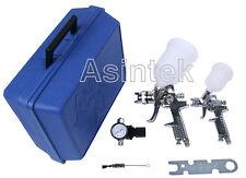 Aerografo pistola per verniciare kit con valigia professionale vernice a spruzzo