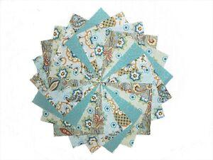 40 5 inch  Victorian Garden charm pack by Benartex/QT Fabrics/5 colorways