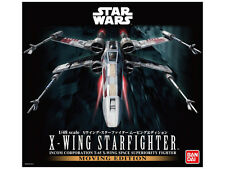 1/48 Star Wars X-Wing Starfighter Moving Edition kit motorized w LED Bandai NEW