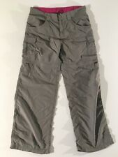 The North Face Girls Convertible Pants Color Gray Size XL