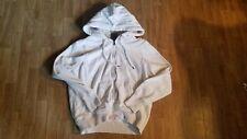 Womens Full Zip Hoodie Size Medium White Faded Glory