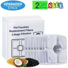 New listing Water Fountain Filter,Pet Fountain Filters for Cat and Dog Drinking 84oz/2.5L