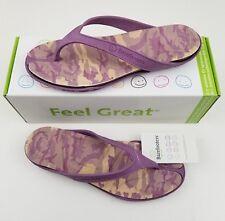 Barefooters Flip Flops Men's 6.5 Women's 8.5 Thistle Unisex Sandals Slip On NEW