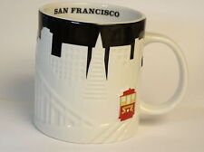 SAN FRANCISCO,Starbucks Coffee Mug,Collectors Series,Skyline,Relief Series