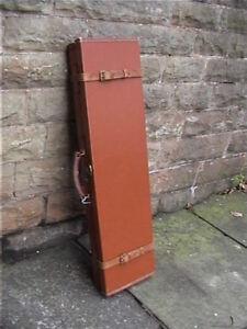 Antique Brady of Halesowen Leather Gun/Rifle motor case + Key..