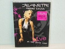 "**DVD-JEANETTE""NAKED TRUTH-LIVE AT BAD GIRLS CLUB""-2006 Polydor - NEUWARE/OVP**"