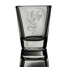 2oz Dragon Three SHOT GLASS     Dragon Three