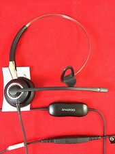 Jabra BIZ 2400 Mono Headband & GN1200 Smart Cord - Excellent Condition -