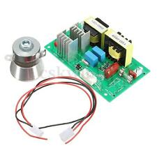 100W 40KHz Ultrasonic Cleaning Transducer Cleaner + Power Driver Board 220VAC