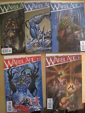 WARBLADE : COMPLETE 5 ISSUE SERIES by SIMON BISLEY & JOHN RIDLEY. WILDSTORM.2004