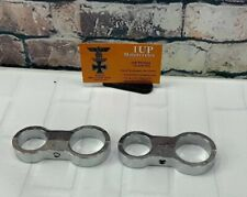 Harley Cable Clamps Dual Chrome New! [CC]