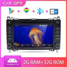 2 DIN Autoradio GPS DVD Android 10 Per Mercedes Benz W639/Vito/Viano/W906/W169
