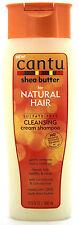 CANTU SHEA BUTTER NATURAL HAIR CLEANSING CREAM SHAMPOO SULFATE-FREE 13.5 FL. OZ.