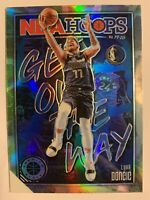 2019-20 NBA Hoops Premium Stock Luka Doncic Get Out The Way Silver Prizm #1 SP