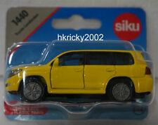 Siku Super 1440 Yellow Toyota Landcruiser Off-road Vehicle Model