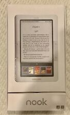 Barnes & Noble BNRZ100-01 3G Wi‑Fi Nook E‑Book Reader White/Gray