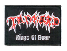 Tankard Woven Patch Kings of beer ricamate ♫ Big Teutonic Four ♫ thrash metal ♫