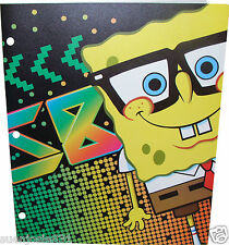 SpongeBob SquarePants SB Pocket Folder Portfolio 1ct School Supplies