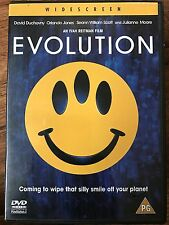 David Duchovny Julianne Moore EVOLUTION 2001 Alien Invasion Sci-Fi Comedy UK DVD