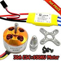 30A controller ESC+930KV Brushless Motor A2212 for 4 Axis Multi Quadcopter B