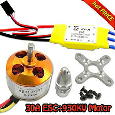 30A controller ESC+930KV Brushless Motor A2212 for 4 Axis Multi Quadcopter B