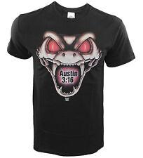 WWE Stone Cold Rattlesnake 3:16 Black T-Shirt,Wrestling, Drink Beer,Wrestling