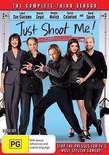 Just Shoot Me! : Season 3 (DVD, 2015, 3-Disc Set) Brand New Region 4