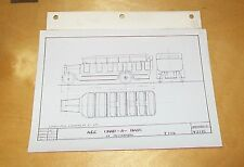 AEC CHAR-A-BANC 33 SEATER Y TYPE  A.E.C. BODY DRAWING PHOTOGRAPH V2118 1921