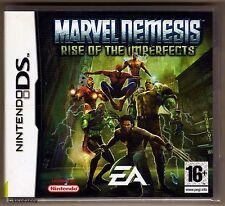 Nintendo DS Marvel Nemesis DS, UK Pal, New & Nintendo Factory Sealed