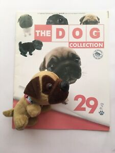 THE DOG COLLECTION 29 Pug (opened) Magazine & Toy good condition