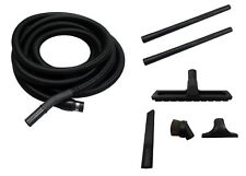 Central Vacuum Home Auto Car Garage Kit w/ Hose, Wands, Attachments for Beam