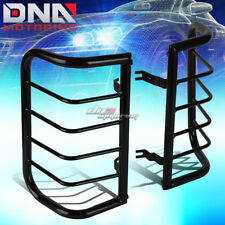 FOR 00-04 X-TERRA WD22 BLACK COATED STEEL TAIL LIGHT/LAMP CAGE GUARD+MOUNTING