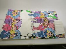 2 Pairs of vintage retro Miss Ms Piggy Muppets window curtains drapes Nos