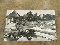 Early Yorkshire real photo postcard - The Dell, Hexthorpe Flatts Doncaster