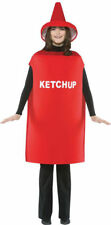 Morris Costumes Adult Unisex Ketchup Tunic Costume One Size Fit Most. GC305
