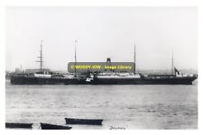 rp09417 - White Star Liner - Delphic , built 1897 - photograph 6x4