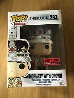 Sherlock Moriarty With Crown Hot Topic Exclusive Funko Pop Vinyl  Figure
