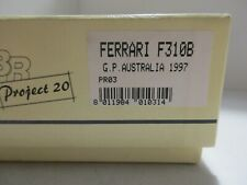 BBR 1/20 FERRARI F310B G.P. AUSTRALIA 1997 COD.PR03 METAL KIT
