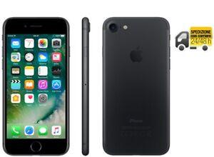 iPhone 7 32GB Grado A++ Nero Opaco Ricondizionato Rigenerato Originale Apple