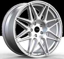 19x8.5 Advanti Racing Classe 5x114.3 +35 Silver Wheels (Set of 4)