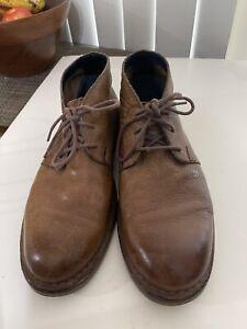 men's cole Haan Leather  chukkas size 9.5 M