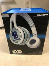 Star Wars R2D2 Headphones SMS Audio R2-D2 On-Ear Wired __BOX ONLY
