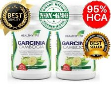 2 Pack GARCINIA CAMBOGIA 95% HCA 3000mg Daily Weight Loss Diet Pills Fat Burner