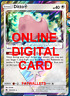1x Ditto 154/214 Pokemon Card TCG Online Card PTCGO Digital Card