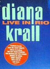 Diana Krall - Live In Rio DVD JAZZ BOSSA NOVA ORCHESTRA SINGER SONGWRITER