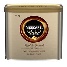 NESCAFE GOLD BLEND RICH & SMOOTH ARABICA GROUND COFFEE 750g CATERING TIN