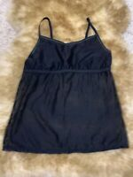 SISI intimate  BLACK Camisole Top sleepwear nightwear size M